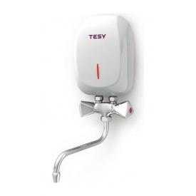 Водонагреватель электрический TESY IWH 35 X01 KI проточный 2 л/мин 3,5 кВт 130x200x76 мм