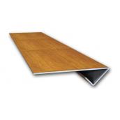 Планка финишная Suntile Блок-Хаус Бревно для металлосайдинга 2000 мм
