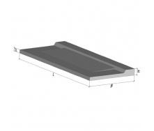 Плита балконная бетонная ТМ Бетон от Ковальской ПБК 36.12-5а 3590x1240x150 мм