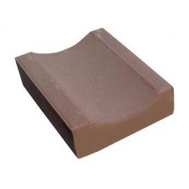 Водосток тротуарный 330х160х60 мм коричневый