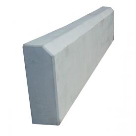 Бордюр тротуарный 500х200х60 мм серый