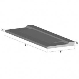 Плита балконная бетонная ТМ Бетон от Ковальской ПБК 24.12-5а 2390x1240x150 мм