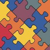 Линолеум IVC LEOLINE Bingo PUZZLE COLOUR 50 2 м