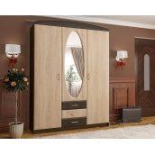 Шкаф-прихожая Мебель-Сервис Вита-1 2100х1500х520 мм венге/дуб самоа
