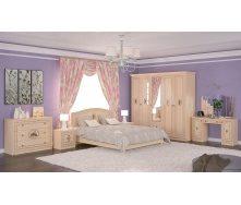 Спальня Мебель-Сервис Флорис 5Д клен