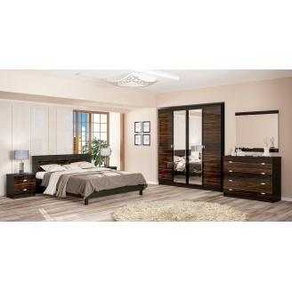 Спальня Мебель-Сервис Ева 4Д макасар