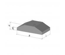 Фундаментная подушка ФЛ 16.8-2 ТМ «Бетон от Ковальской»