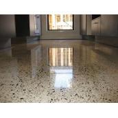 Влаштування полімерцементної підлоги терраццо