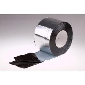Битумная гидроизоляционная лента PLASTTER 30 см х 10 м алюминиевая