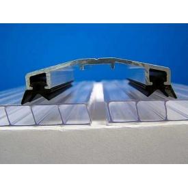 Алюмінієвий профіль для полікарбонату притискна кришка АПК 40 мм