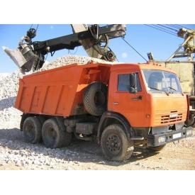 Доставка щебеню 20-40 мм машиною КАМАЗ 5511