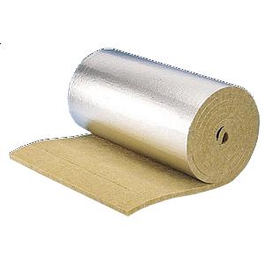 Ламельный базальтовый мат Paroc Lamella Mat Alu 1000х50 мм 35 кг/м3