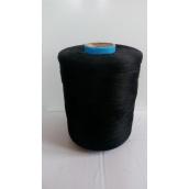 Нитки для килимового оверлока 4 кг чорні
