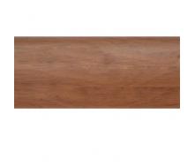 Плинтус-короб TIS с прорезиненными краями 56х18 мм 2,5 м орех бразильский