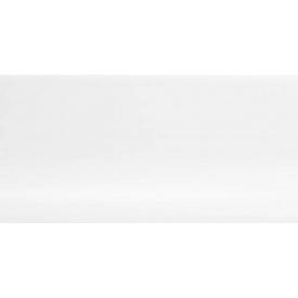 Плинтус-короб TIS без прорезиненных краев 56х18 мм 2,5 м белый