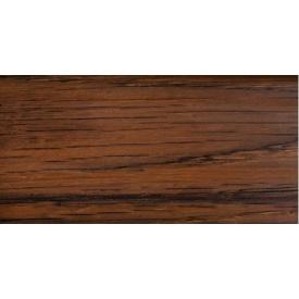 Плинтус-короб TIS с прорезиненными краями 56х18 мм 2,5 м орех