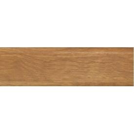 Плинтус-короб TIS с прорезиненными краями 56х18 мм 2,5 м дуб шервуд