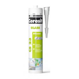 Герметик Ceresit CSGTR Glas 280 мл прозорий (467537)