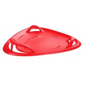 Санки-ледянка Plastkon Meteor 60cм красные