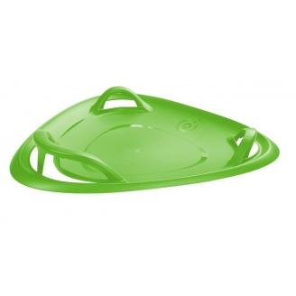 Санки-ледянка Plastkon Meteor 60 см зелені