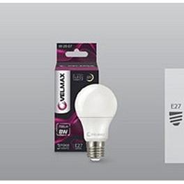 Лампа LED Velmax V-A60 10 W E27 3000K 950 Lm