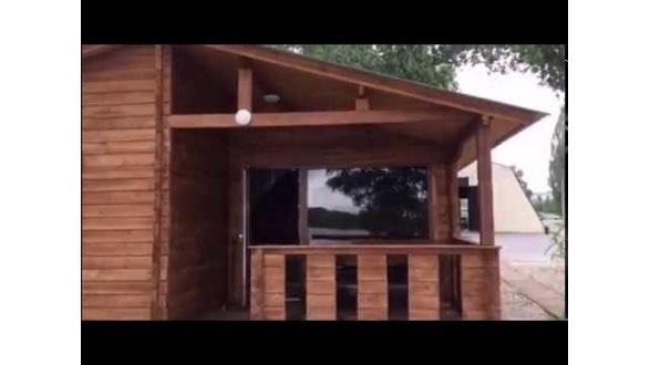 Деревянный дом из бруса в Кременчуге