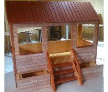 Детский домик для жилья и игр 2100х900х1800 мм