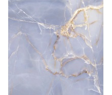 Плитка Golden Tile Onyx Blue 604х604 мм голубой