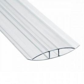 Профиль соединительный 4 мм Н-образный 6 мм прозрачный