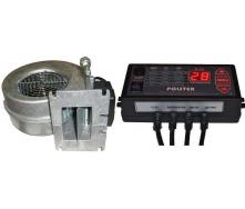 Комплект автоматики Polster C-11 з вентилятором WPA 120 для твердопаливного котла 83 Вт