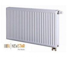 Стальной панельный радиатор NEW STAR низ 11х500х2600 мм
