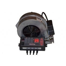Комплект автоматики Polster C-11 з вентилятором WPA X2 для твердопаливного котла 90 Вт