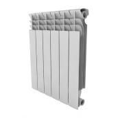 Биметаллический радиатор Summer 5 секций 375х550х76 мм