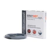 Кабель нагревательный GrayHot двухжильный 4,5х5,5 мм 13 м