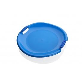 Санки-тарелка Plastkon Торнадо супер 54х8 см синие