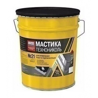 Мастика покрівельна ТехноНІКОЛЬ №21 Техномаст УКР 20 кг