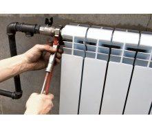 Демонтаж радіатора опалення