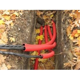 Укладка кабеля сечением до 25 мм2 в полипропиленовой трубе в земле
