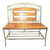 Скамейка деревянная ЛУКО ЛАГОДА 86x88x45 см (1031)