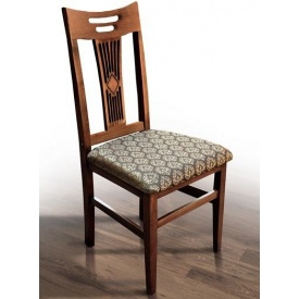 Деревянный стул Юля Феникс 960х410х450 мм темный орех
