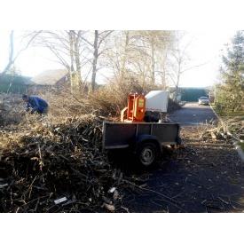 Измельчение веток деревьев