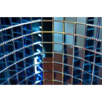 Мозаика зеркальная на сетке VIVACER ZS-1, 25x25 мм
