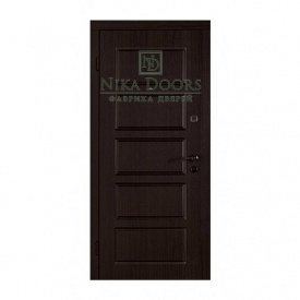 Бронированные двери Лестница-В 960х2040 мм венге