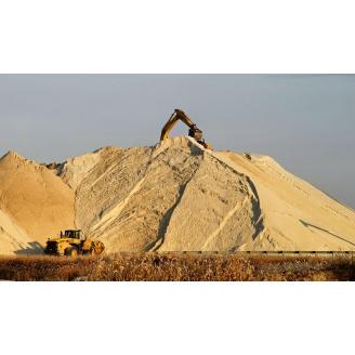 Мытый песок навалом