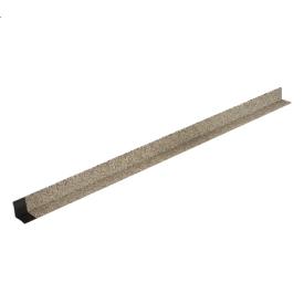 Уголок внутренний металлический ТехноНИКОЛЬ Hauberk 4,5 мм бежевый