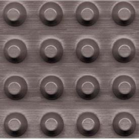 Шиповидная мембрана плотность 400 рулон 2х20м для защиты фундамента (Польша)