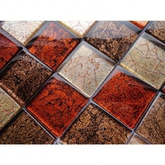 Мозаика VIVACER MIX RED, 30х30 cм