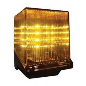 Сигнальная лампа FAACLED 24 В 142x100x130 мм желтый