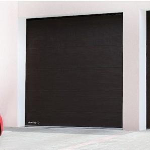Гаражні секційні ворота DoorHan RSD01 з пружинами розтягування 3000х2640 мм