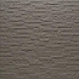 Керамогранит АТЕМ ANIT 0001 рельефный полированный 600х600х9,5 мм светло-серый